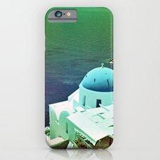 Blue Dome Church, Santorini: Shot with a Nikon FM2 and Revolog 600nm film Slim Case iPhone 6s