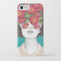 The optimist // rose tinted glasses Slim Case iPhone 7