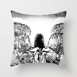 Ange Throw Pillow