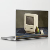 computer Laptop & iPad Skins featuring Pear Computer by Uri Tuchman