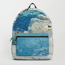 Childe Hassam The South Ledges Appledore Backpack