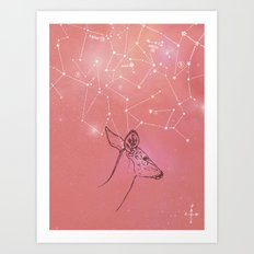 Constellation Prize Art Print
