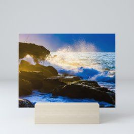 Dawn at Bonte Beach. Sydney. Australia. Mini Art Print