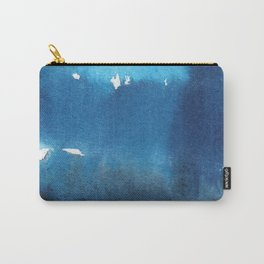 Watercolor Unlock: Blue Carry-All Pouch