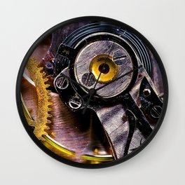 Inside Time Wall Clock