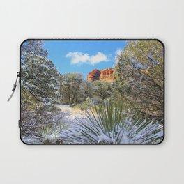 Sedona Winter  by Reay of Light Laptop Sleeve