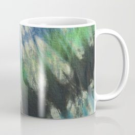 Tie Dye Blue Green 11 Coffee Mug