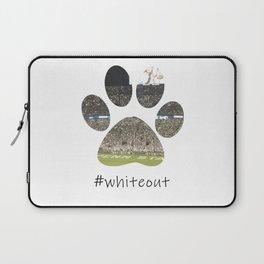 #whiteout Laptop Sleeve
