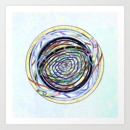 Zodiac circumnavigations Art Print