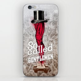 gentlemen iPhone Skin