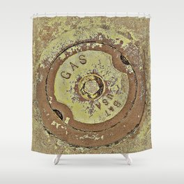 Cooking with Gas Shower Curtain