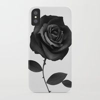 ruben iPhone & iPod Cases featuring Fabric Rose by Ruben Ireland