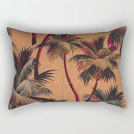 Palm Burn Rectangular Pillow