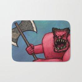 Red Orc Bath Mat