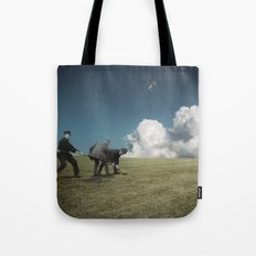 Kiteman Tote Bag