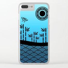 Peaceful River Clear iPhone Case