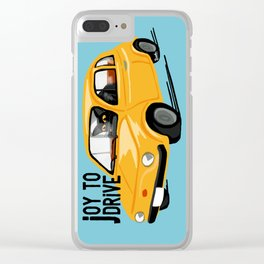 Joy to drive Clear iPhone Case
