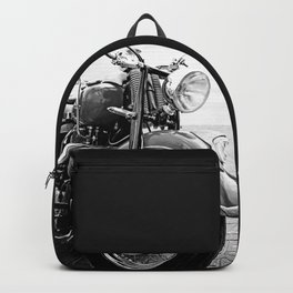 Motorcycle-B&W Backpack
