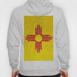 Extruded flag of New Mexico Hoody