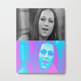 DANIELLE BREGOLI CATCH ME OUTSIDE GIRL ART POSTER Metal Print