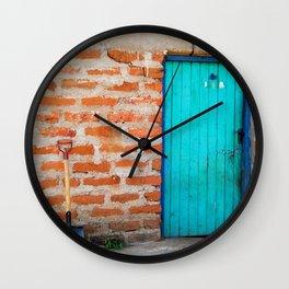 Kenya / Kitui Door Wall Clock