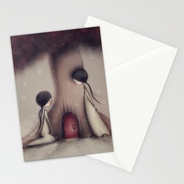 Finding Fairy Doors Stationery Cards