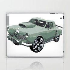 Studebaker in Green Laptop & iPad Skin