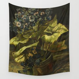 Cineraria by Vincent van Gogh Wall Tapestry