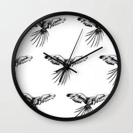 Guacamaya pattern Wall Clock