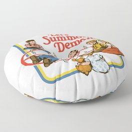 LET'S SUMMON DEMONS Floor Pillow