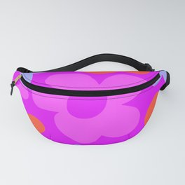 60s 70s Hippie Flowers Pinky Fanny Pack