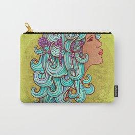 Boho Gypsy Girl Carry-All Pouch