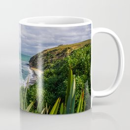 New Zealand Beach | Oamaru Beach, near Dunedin (South Island) | Colorful Travel Photography Coffee Mug