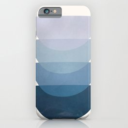 Blue Stack 01 iPhone Case