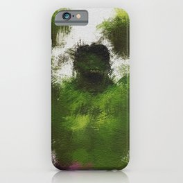 Smashing Green iPhone Case
