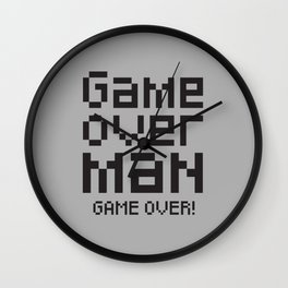 Game over man - Alien Wall Clock