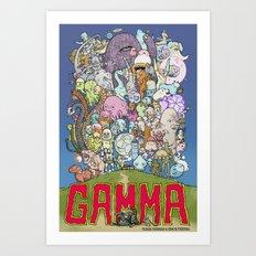 GAMMA cover Art Print
