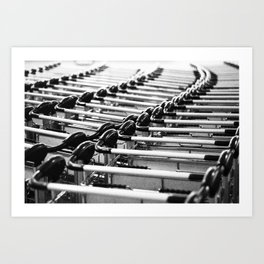 Travel Photography - Chile Airport Art Print