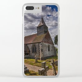 St Bartholomew Chalvington Clear iPhone Case