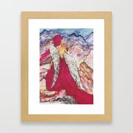 Jorney of the Muse Framed Art Print