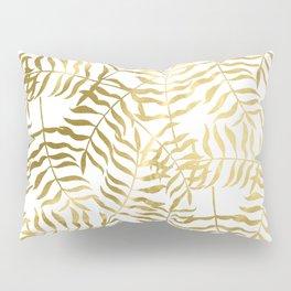 Gold Leaves 2 Pillow Sham