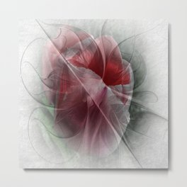 flower design -11- Metal Print