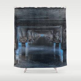 Under the Pier at Hanalei Shower Curtain