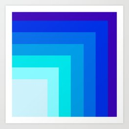 Square by square Art Print