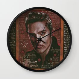 Lets Rock...Everybody Lets Rock Wall Clock