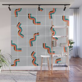 Curly fries inspired Wall Mural