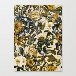 Warm Winter Garden Canvas Print