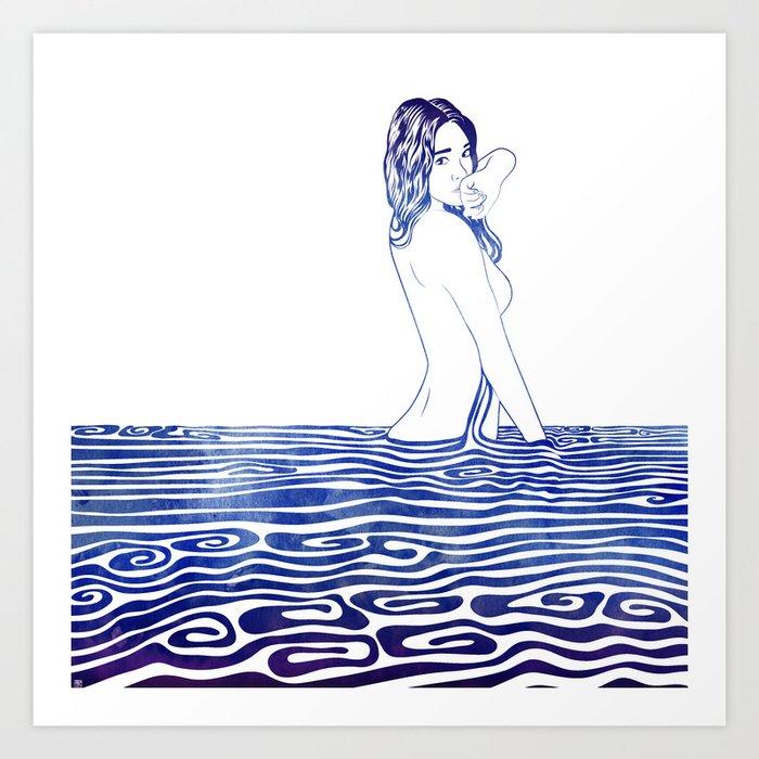 Water Nymph XXV Art Print