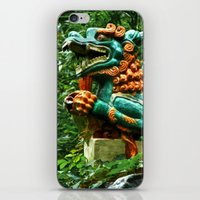 courage iPhone & iPod Skins featuring Courage by Anthony M. Davis