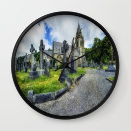 Welcome To Our Church Wall Clock